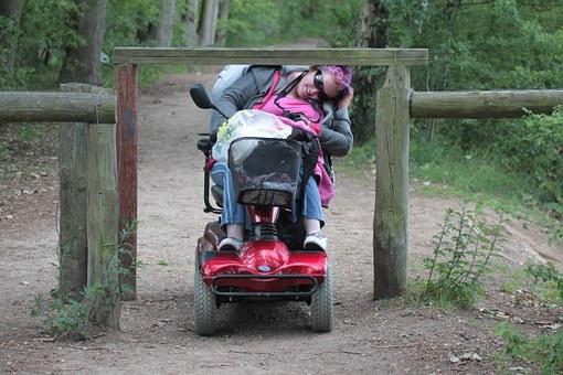 skutery elektryczne dla inwalidów